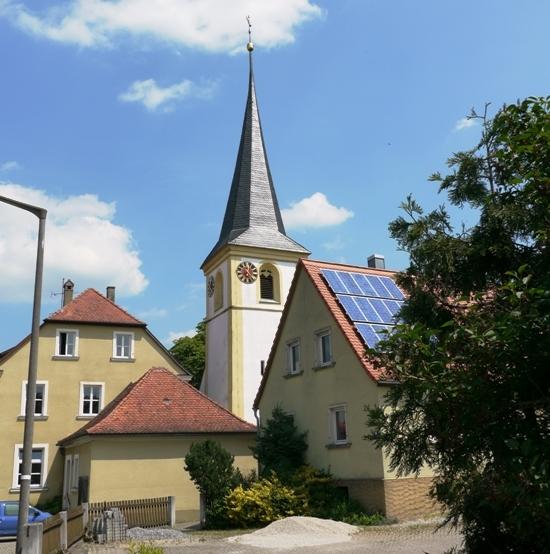 evang. Kirche in Ullstadt