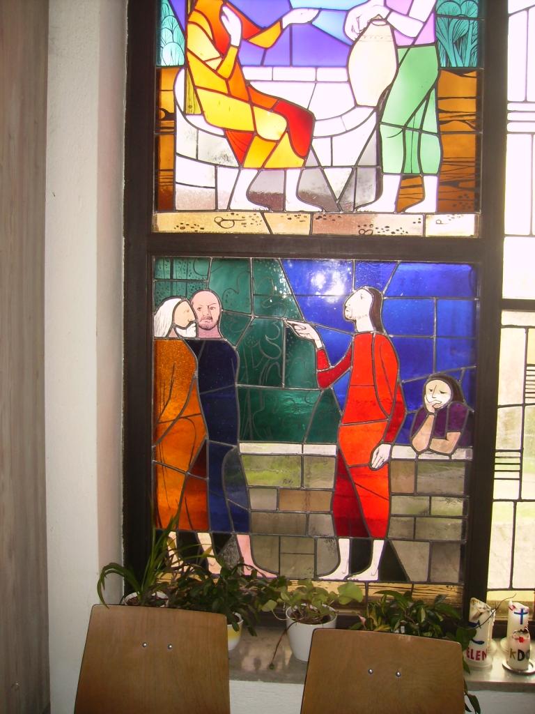 Kirchenfenster Langenfeld