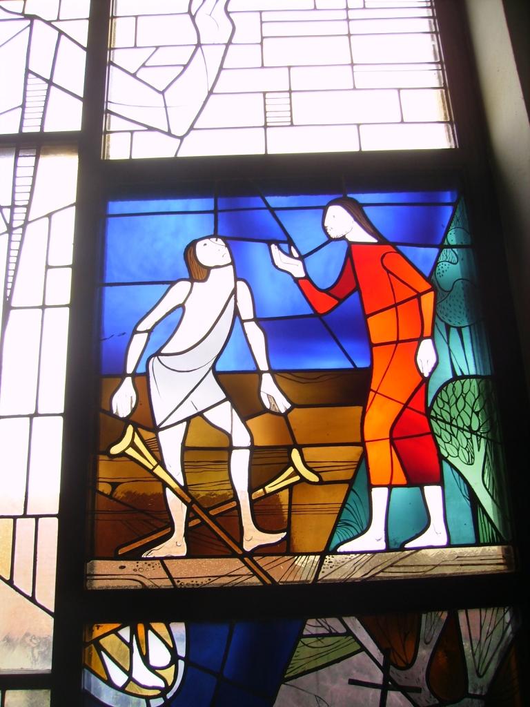 Jesus heilt den Gelähmten