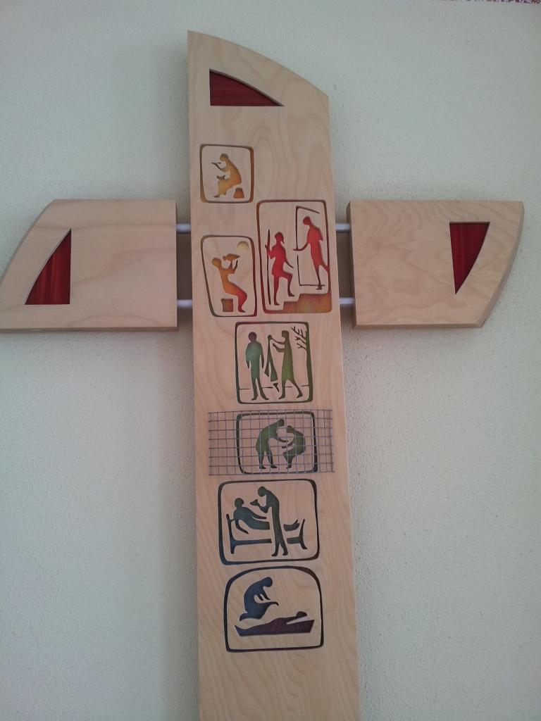 Kreuz im Ullstädter Gemeindehaus