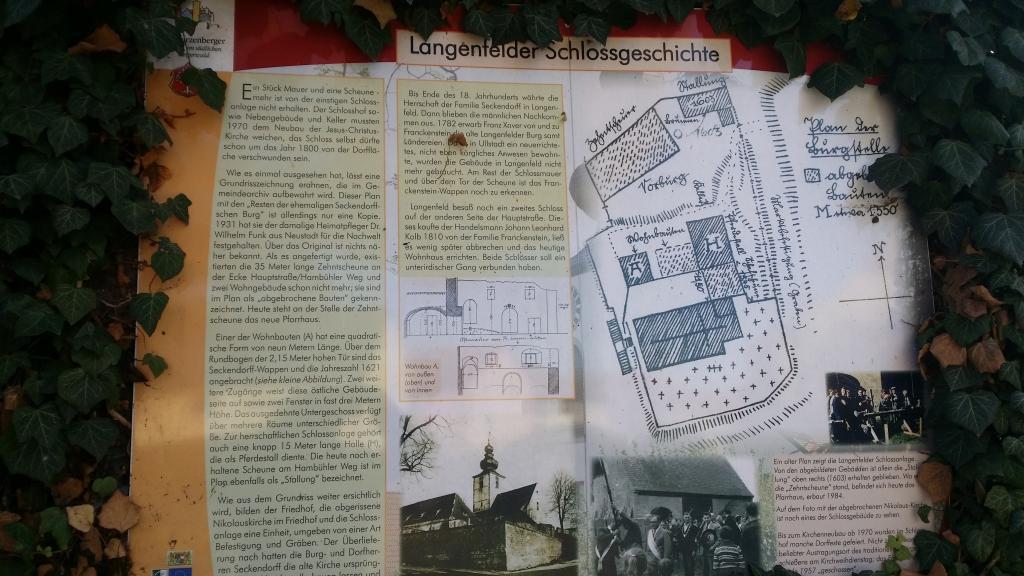 Die Geschichte der alten Kirche in Langenfeld